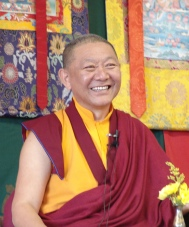 Ringu Tulku Rinpoche at Bosham House 2013